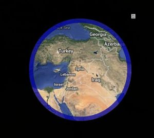 Syria map look