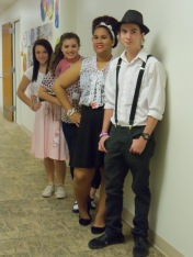 Students celebrate 50s Day