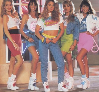 Neon life an 80s 90s homecoming dress up guide the pine needle Fashion style in 80 s