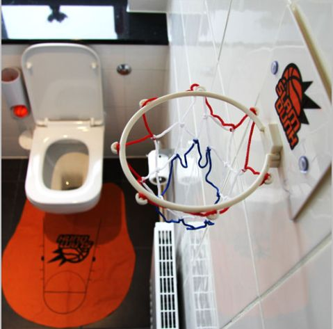 slam dunk toilet bball