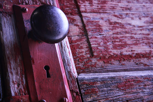 Old door FH Cassie Hand