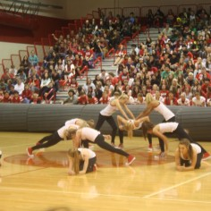 Photo By: Sara Felix. Central High School Dance Team.