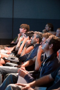 Students at the Vancouver Film School listen to a lecture. Photo used by permission from the Vancouver Film School.