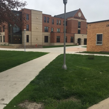 SDSU residence hall
